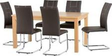 Country 7 Table & Chair Sets with Flat Pack
