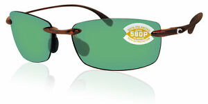Costa Del Mar Ballast Tortoise Frame Green Mirror 580 Plastic Polarized Lens