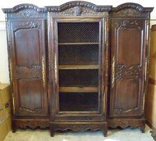 Remarquable bibliothèque Louis XV