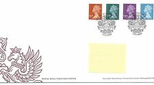 GB - FIRST DAY COVER - FDC - DEFINITIVES -2009 - 4 val to £5.00 - Pmk W