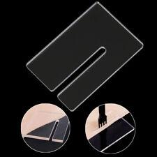 7 Piezas 20-50mm Herramienta de perforaci/ón DIY Forma Triangular Troqueladora de Cuero para artesan/ías de Cuero HEEPDD Molde de Cuero