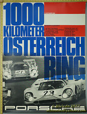 1970 Österreich Ring 1000 km  Porsche Genuine Factory Poster Original