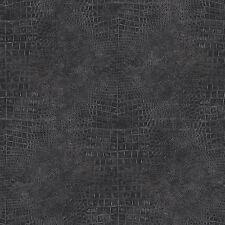 G67510 - Natural FX Black Animal Skin effect Galerie Wallpaper