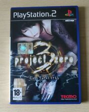 PS2 PROJECT ZERO 3 VERSIONE ITALIANA  PLAYSTATION 2 COMPLETO COME NUOVO RARO
