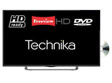 "Technika 32G22B-HDR/DVD 32"" Slim LED TV DVD Combi HD Ready 720p With Freeview HD"