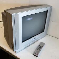 """Samsung 16"""" CRT TV TXN1634F Dynaflat Retro Gaming 2003 Television w/ Remote"""