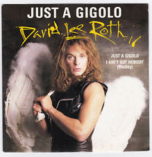 SP 45 TOURS DAVID LEE ROTH  JUST A GIGOLO  WARNER BROS RECORDS 929 040 7 en 1985