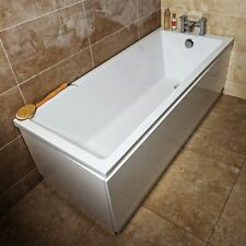 Wilton White Acrylic Bath Super Strong Extra Deep Soak 1800x800mm