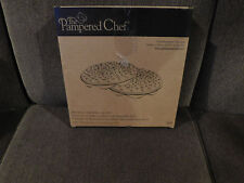 The Pampered Chef Microwave Chip Maker (Set of Two) • NIB (#1241)