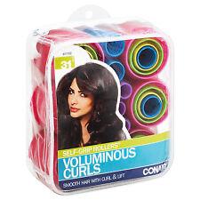 Conair SELF-GRIP ROLLERS VOLUMINOUS CURLS Assorted 31 Count SMOOTH HAIR