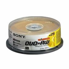 CD, DVD et Blu-ray Sony, 25 Go