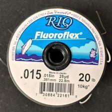 RIO Flouroflex Plus Flourocarbon Tippet .015 20 lb 25 yds NEW