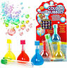 2 4 6 12 MAGIC RAINBOW BUBBLES CHILDRENS TOY PARTY BAG BIRTHDAY PARTY BAG FILLER
