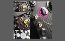 Se adapta a Thrustmaster F1 Volante de carbono estilo y arañazos Kit de protección de