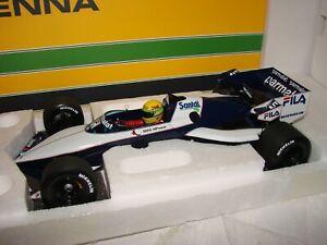 1:18 Minichamps Brabham BMW BT52, Ayrton Senna, Test Car, OVP