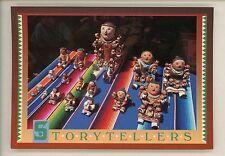 Dolls postcard Storytellers Pottery Figurines Native American