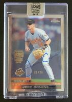 2017 Topps Archives Signature JEFF CONINE Autograph Relic Baseball Card SP /26