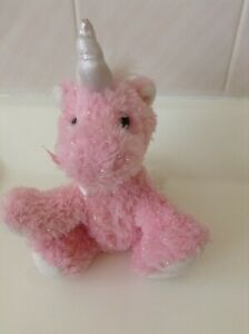Russ MYSTIQUE Pink Sparkly UNICORN 15 cm Plush Toy - As new condition