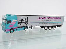 "Herpa 306607 1:87 DAF XF SSC piano tenda SZ ""Jan Tromp""(NL)"