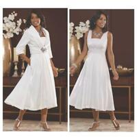 size 12 Silver Gray Formal Shimmer Suit Midnight Velvet Elegant Jacket Dress