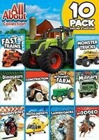 All About Collection 10-Pack: Explore And Discover [New DVD] Full Frame