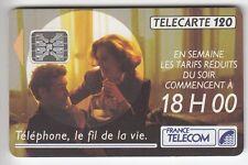 VARIETE TELECARTE FRANCE .. 120U F208A SC5AN T6 18H00 11/91 GE.38583 UT/TBE C45€