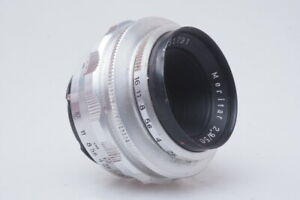 E.Ludwig Meritar 1:2.9 / 50mm V Objektiv lens  / TS007