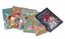 Many Size Colorful Aluminum Foil Zipper Mylar Bags Clear Food Packaging Pouches