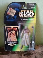 New Sealed Star Wars Tusken Raider Collection 2 Power of the Force Figure