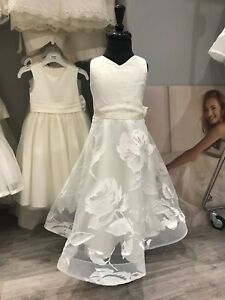 Dovita Flower Girl Dress in Ivory (Various Ages Available)