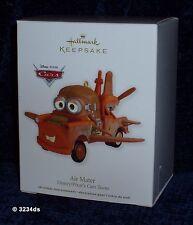 2012 Hallmark AIR MATER Disney/Pixar's CARS Toons Keepsake Ornament NEW