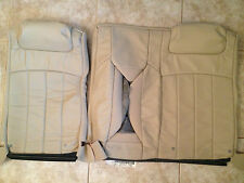 2004-06 Lincoln LS Factory Original REAR LEATHER Seat Cover's (Tan Leather)