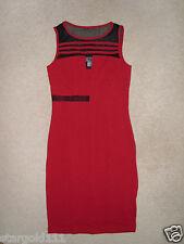 ASTUCCIO abito in rosso ** 32 ** b.p.c. ** SEXY MINI ** NUOVO