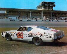 LEE ROY YARBROUGH 1969 TORINO COBRA DAYTONA 500 NASCAR AUTO RACING 8X10 PHOTO