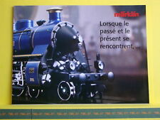 Catalogue MARKLIN 2003 F - Rheingold - Series limitées HO Z & 1 - poster 8 pages