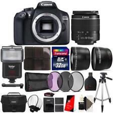 Canon EOS 1300D SLR Camera + 18-55mm + Canon Case & Accessories