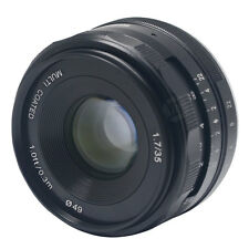 New Meike 35mm f1.7 large Aperture Manual Multi Coated Focus lens APS-C for Sony