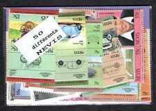Nevis 50 timbres différents
