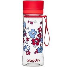 Aladdin Aveo Water Bottle , Red Print - 0.35 Litre