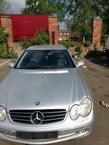 Mercedes Benz CLK 240 petrol for breaking