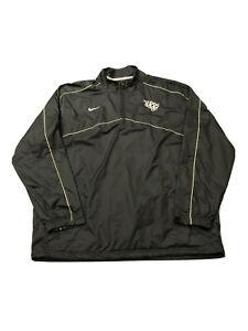 Men's Nike UCF Knights Central Florida 1/4 Zip Windbreaker Jacket Sz L Large GUC