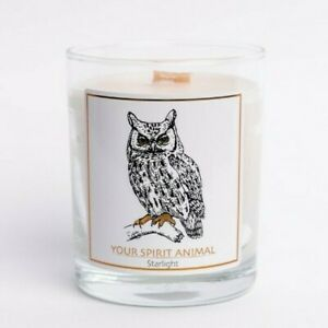 Nordic Wooden Wick Soy Wax Hand Poured Christmas Candle Rosemary Essential Oil