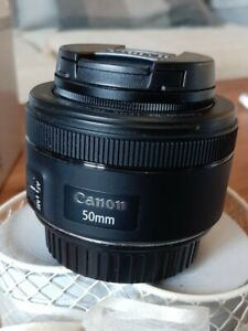 Canon EF 50 mm F/1.8 EF STM for Canon - Black EXCELLENT CONDITION