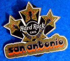 New listing San Antonio Texas *Glam Rock Series* Gold Star Burst Hard Rock Cafe Pin Le