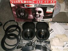 "OLD SCHOOL MB QUART QM 130.03 KX,  RARE GERMAN 5.25"" COAXIAL SYSTEM, QUART MOBIL"