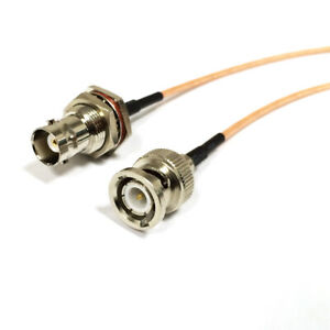 Extension cable BNC male to female connector RF adapter pigtail cable RG316 1M