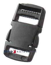 Steckschnalle Steckverschluss 50mm schwarz