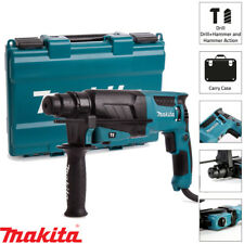 Taladro Makita HR2630 SDS martillo 3 modos 26 mm 240 V Con Funda De Transporte