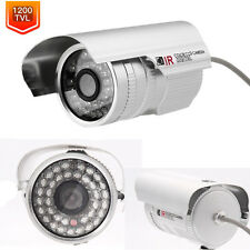 "1/3"" Cmos 1200Tvl Hd 36 Ir Outdoor Waterproof Infrared Cctv Security Camera Ntsc"