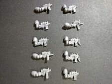 Warhammer 40k Chaos Space Marines Squad x10 Bolt Pistols Bits
